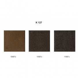 K-127 - Zwart Fijn, 0.5 mm chamotte