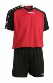 Soccer Suit LONG SLEEVE Granada305 Colour 006 Black/Red/White