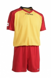Soccer Suit LONG SLEEVE Granada305 Colour 219 Red/Yellow/Navy