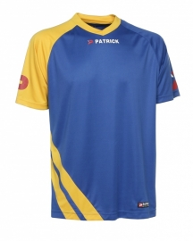 Soccer Shirt LONG SLEEVE Victory105 Colour 128 Royal Blue/Yellow