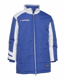 Padded Jacket Victory135 Colour 054  Royal Blue/White