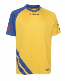 Soccer Shirt SS  Victory101 Colour 207 Yellow/Royal Blue