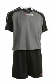 Soccer Suit LONG SLEEVE Granada305 Colour 003 Black/Grey/White