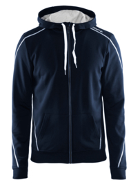 Craft Sportswear Hoody Vest Heren 2395 Navy