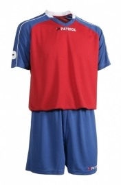 Soccer Suit SS Granada301 Colour 125 Royal Blue/Red/White