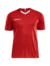 Craft Progress Contrast Shirt Heren 1430 Rood/Wit