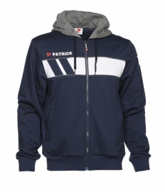 Hoody Jacket Cotton Impact120 Colour 035 Navy/White