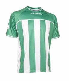 Soccer Shirt Stripes SS Coruna105 Colour 022Green/White