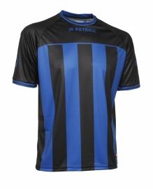 Soccer Shirt Stripes SS Coruna105 Colour  241 Black/Royal Blue
