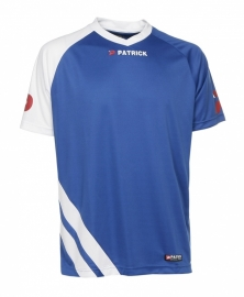 Soccer Shirt LONG SLEEVE Victory105 Colour 054 Royal Blue/White