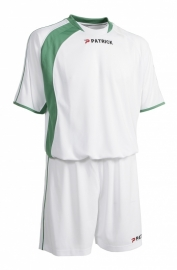 Soccer Suit SS Sevilla301 Colour 112 White/Green