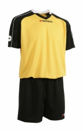 Soccer Suit LONG SLEEVE Granada305 Colour 015 Black/Yellow/White