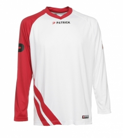 Soccer Shirt LONG SLEEVE Victory105 Colour 111 White/Red