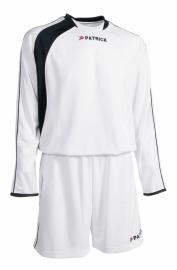 Soccer Suit LONG SLEEVE Sevilla305 Colour 065 White/Navy