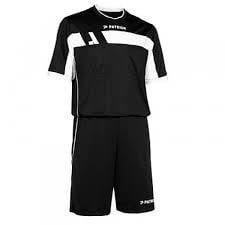 Patrick Sportswear Referee Suit SS Colour 009 Black/White