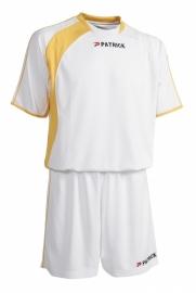 Soccer Suit SS Sevilla301 Colour 114 White/Yellow