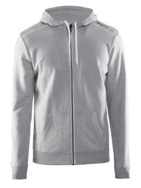Craft Sportswear Hoody Vest Heren 2950 Grijs