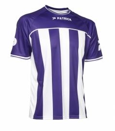 Soccer Shirt Stripes SS Coruna105 Colour 094 Purple/White