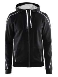 Craft Sportswear Hoody Vest Heren 9999 Zwart