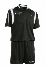 Referee Suit SS REF501 Colour 001 Black