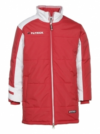 Padded Jacket Victory135 Colour 047  Red/White