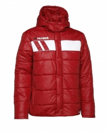 Padded Jacket Impact115 Colour 103 Burgundy/White