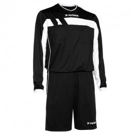 Patrick Sportswear Referee Suit LS REF525 Colour 009 Black/White