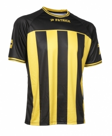 Soccer Shirt Stripes SS Coruna105 Colour  501 Black/Yellow