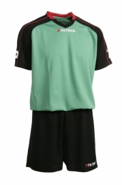 Soccer Suit LONG SLEEVE Granada305 Colour 110 Black/Green/Red