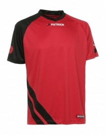 Soccer Shirt LONG SLEEVE Victory105 Colour 043 Red/Black