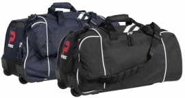Basic large Holdall Wheels Girona030 Colour 009 Black/White