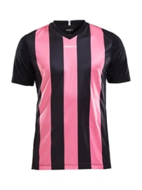Craft Progress Stripe Shirt Heren 9471 Zwart/Roze