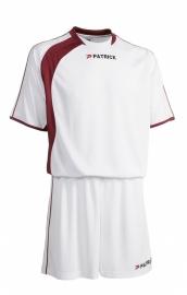 Soccer Suit SS Sevilla301 Colour 115 White/Burgundy