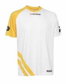 Soccer Shirt LONG SLEEVE Victory105 Colour 114 White/Yellow