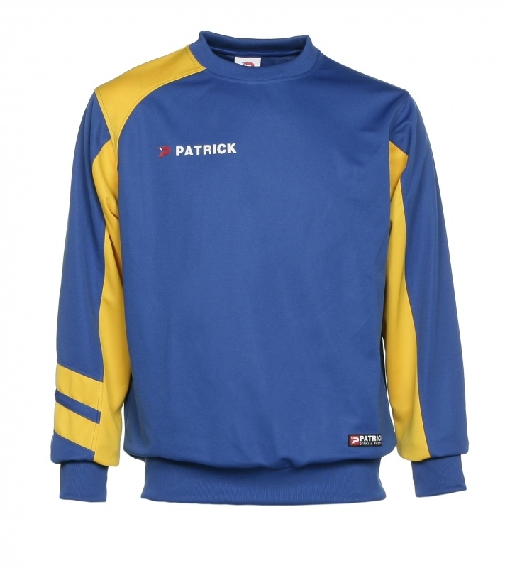 Sweater Victory110 Colour 128 Royal Blue/Yellow