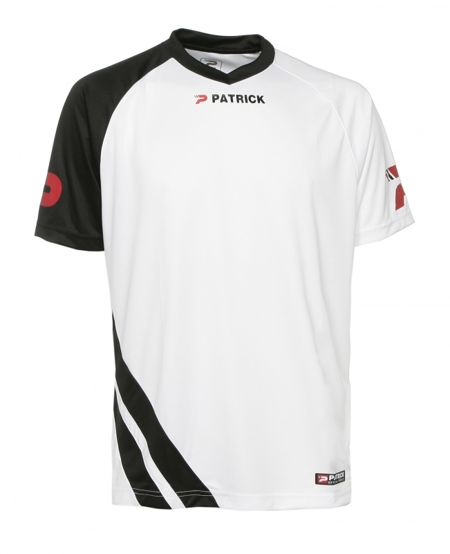 Soccer Shirt SS  Victory101 Colour 104 White/Black