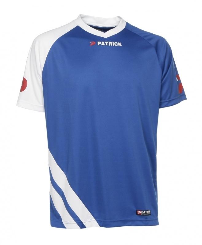Soccer Shirt SS  Victory101 Colour 054 Royal Blue/White