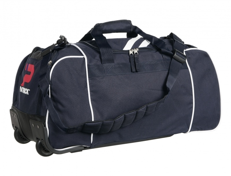 Basic large Holdall Wheels Girona030 Colour 035 Navy/White