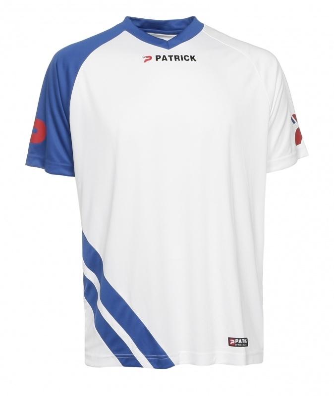 Soccer Shirt SS  Victory101 Colour 113 White/Royal Blue