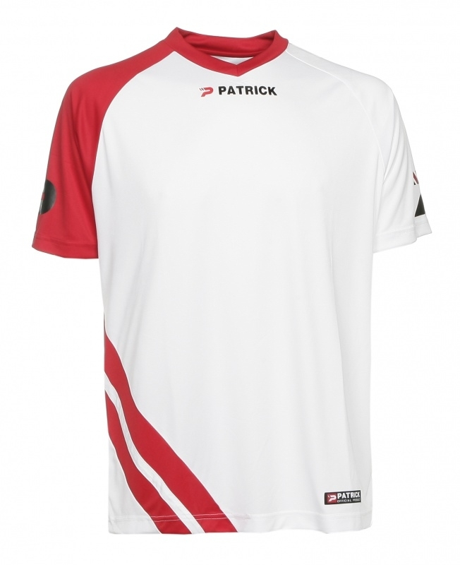 Soccer Shirt SS  Victory101 Colour 111 White/Red