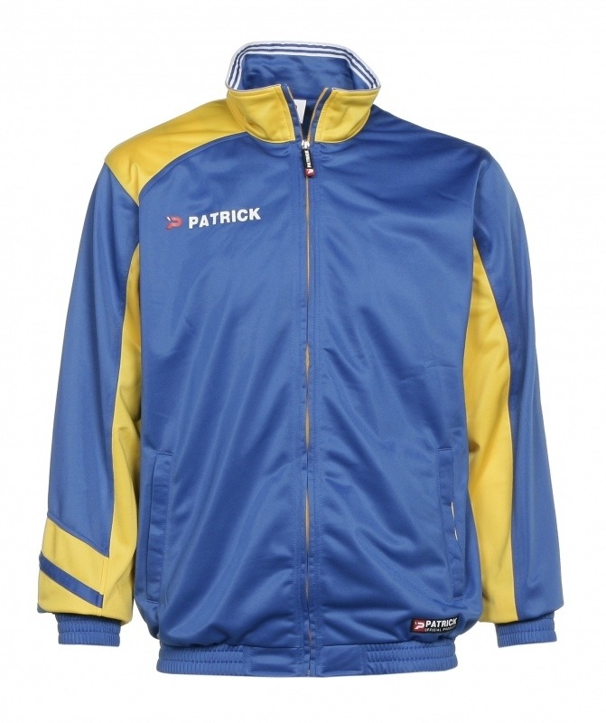 Training jacket Victory125 Colour 128 Royal Blue/Yellow