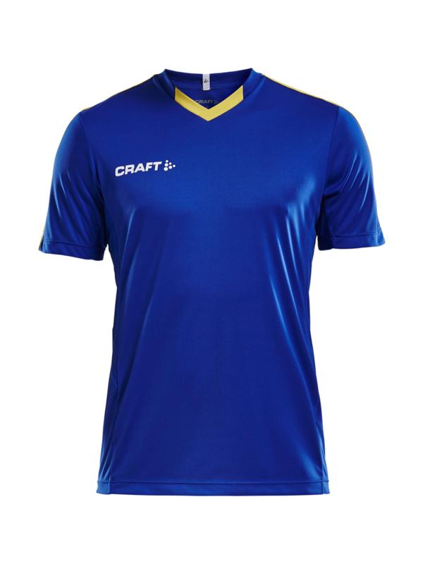 Craft Progress Contrast Shirt Heren 2346 Cobalt/Geel