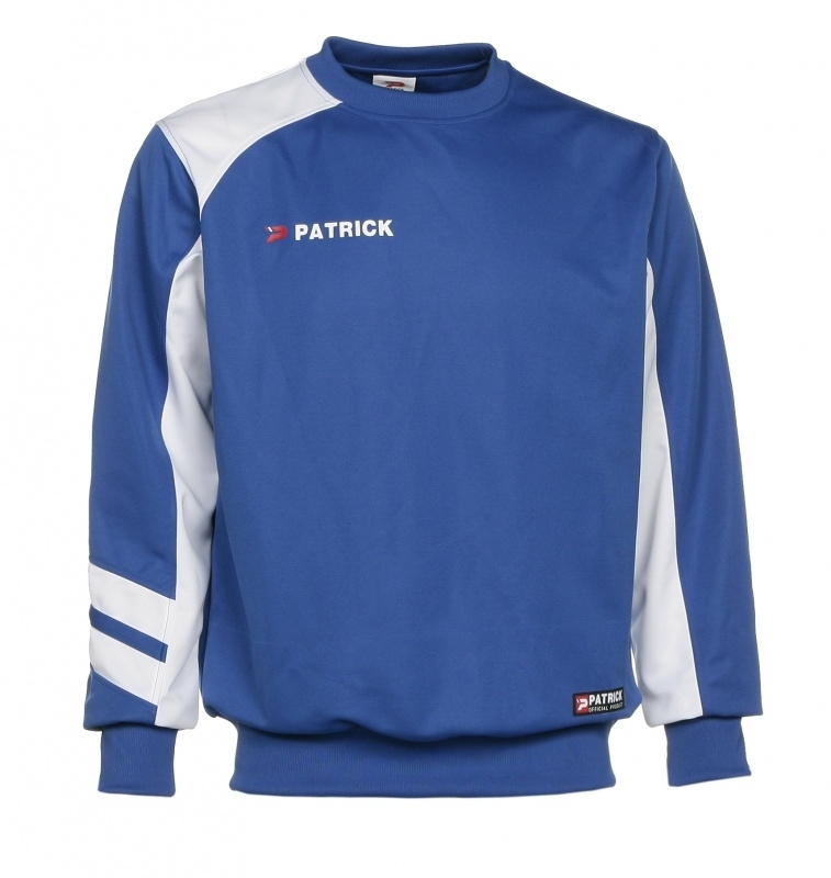Sweater Victory110 Colour 054  Royal Blue/White