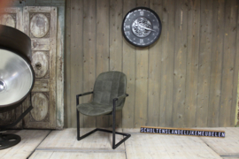 Industriële stoel Mark Groen