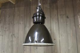Brocante industriële lampen