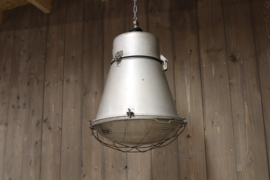 Fabriekslamp Grijs