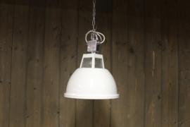 Witte industriële lampen