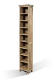 Teak houten DVD Toren 30 cm