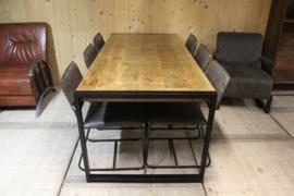 Eetkamertafel mangohout vanaf 140 cm