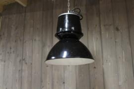 Industriële Fabriekslamp Zwart